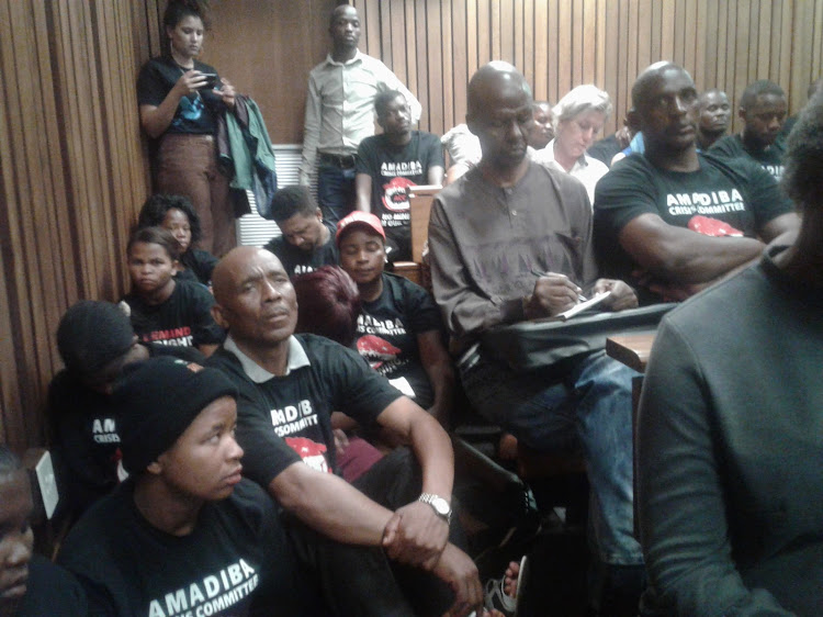 The North Gauteng High Court in Pretoria was packed to capacity on Monday with members of an Eastern Cape community who are refusing for a foreign company to mine on their land.