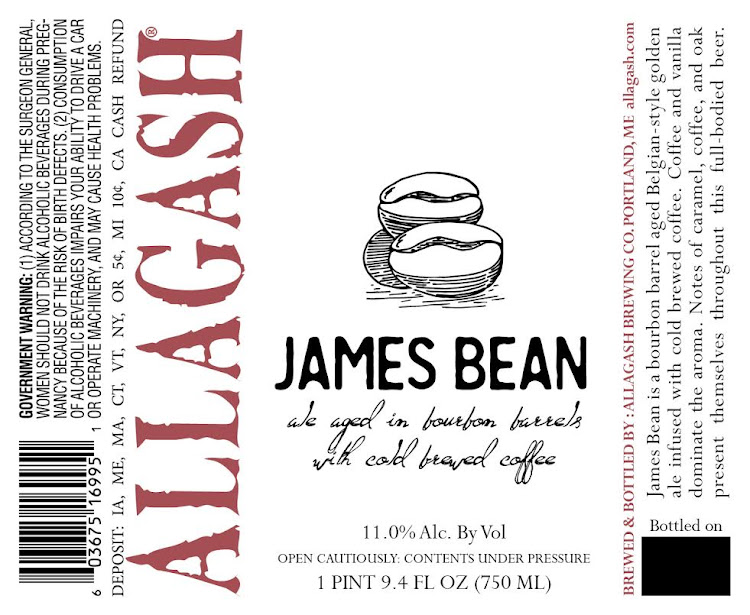 Logo of Allagash James Bean