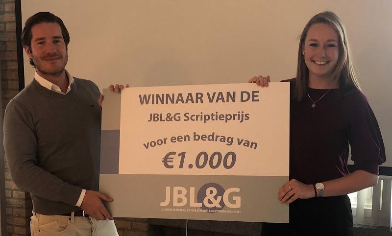 Winnaar JBL&G Scriptieprijs: 'Tijd is geld, ook bij letselschadezaken'