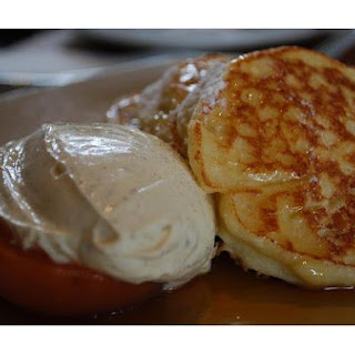 Light and Fluffy Pancakes.