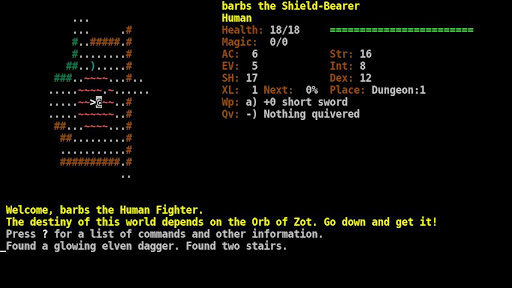 Dungeon Crawl:SS (ASCII)  screenshots 2