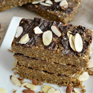 Vegan Almond Protein Bars.