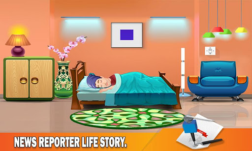 TV Reporter News Adventure: Life Role Story 1.0 5