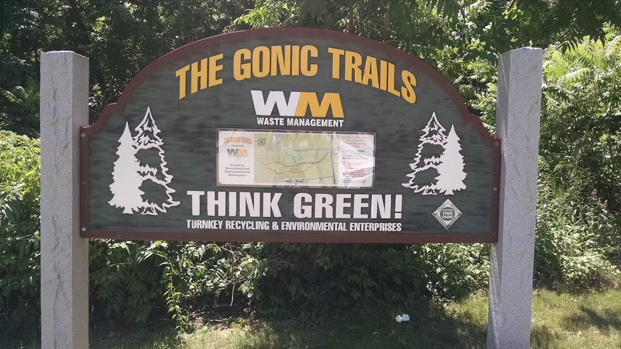 Gonic Trail Map Rochester, NH