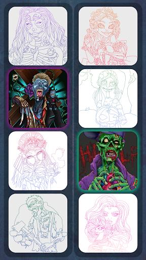 Zombie Painting screenshot 3