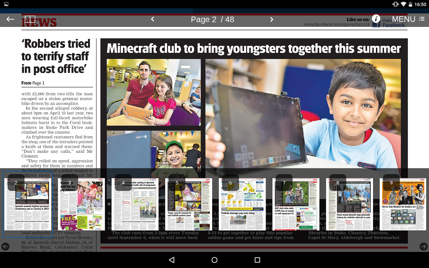 Ipswich Star- screenshot