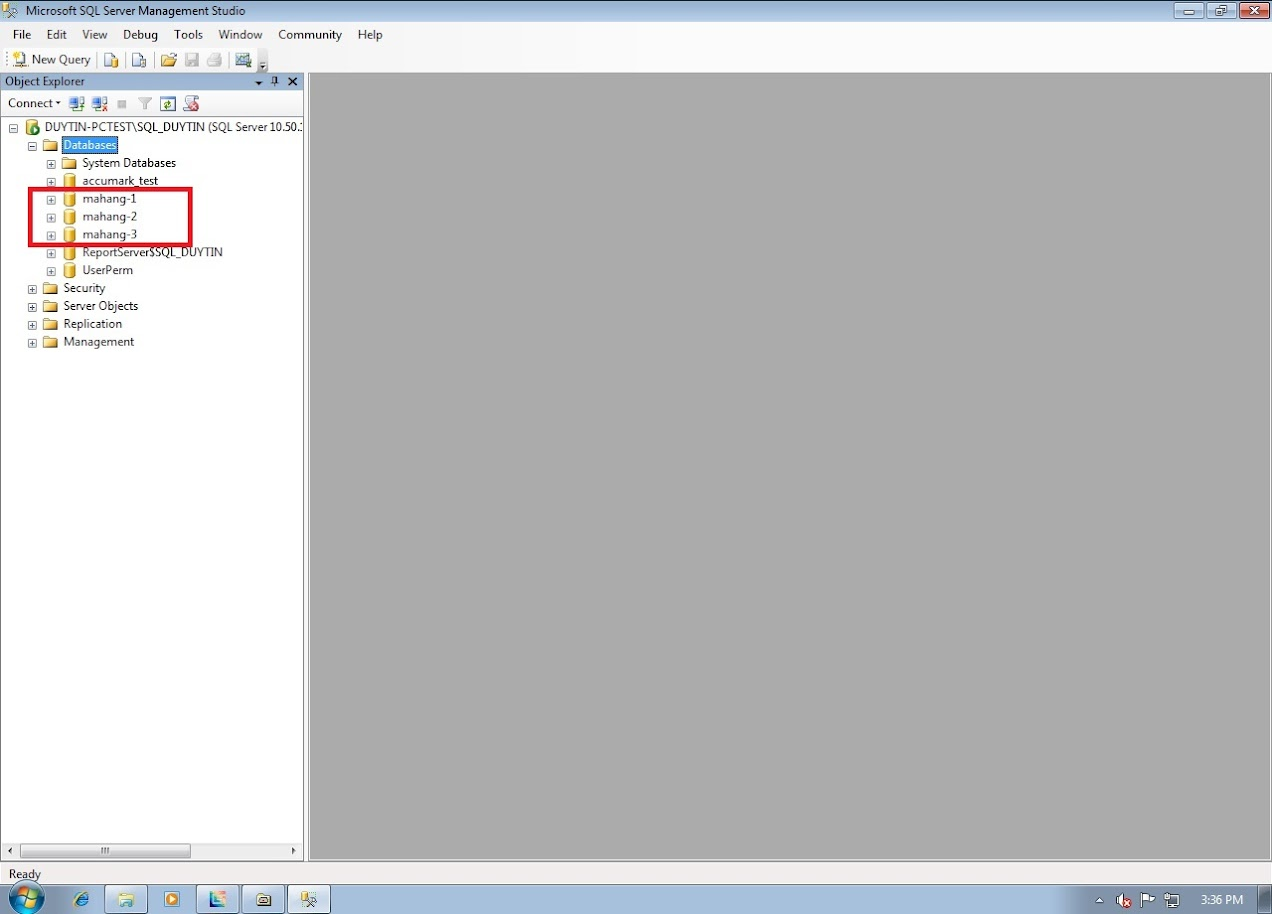 Hướng Dẫn Backup Và Restore Databases Gerber Accumark Trong SQL Server 5
