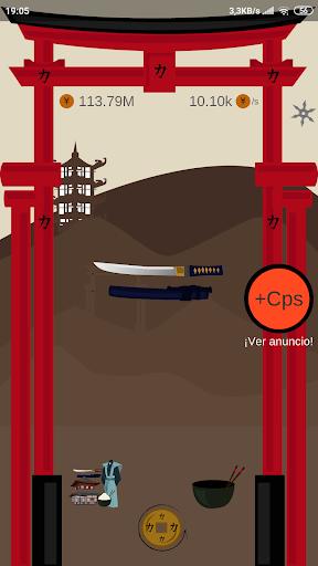 Télécharger Samurai Empire Clicker apk mod screenshots 3