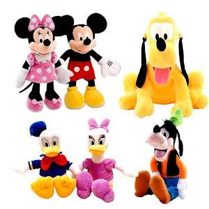 Set 6 jucarii din plus Disney 30 cm oferta reducere 2