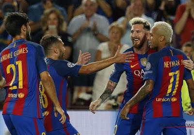 Barcelona - Paris Saint-Germain: 6-1