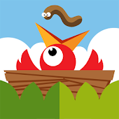 Worm Drop : A Cute Puzzle bird worm drop