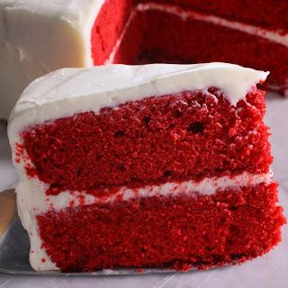 Slow Cooker Red Velvet Cake.