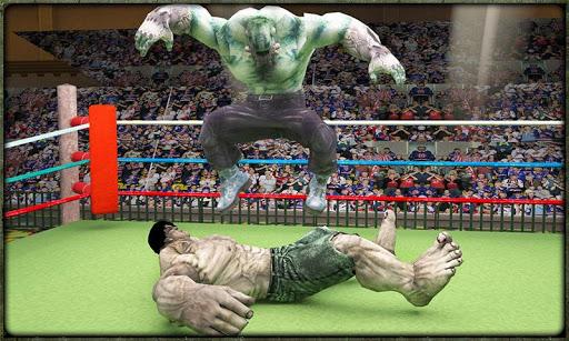 Incredible Monster Superheroes Ring Battle  screenshots 4