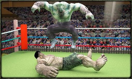 Incredible Monster Superheroes Ring Battle 4