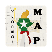Myanmar Moulmein Map
