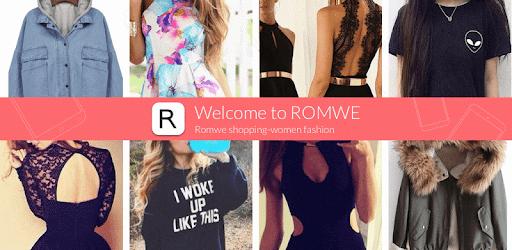 Romwe shopping-women fashion app (apk) free download for Android/PC/Windows screenshot