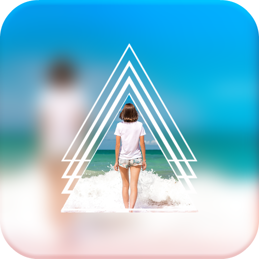 PIP Edit - Geometry Shapes Blur Effects Icon
