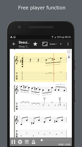 GuitarTab - Tabs and chords 3.4.6 screenshots 2