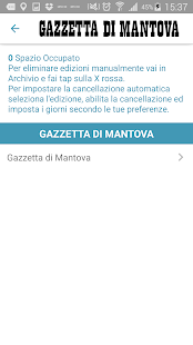 La Gazzetta di Mantova- screenshot thumbnail