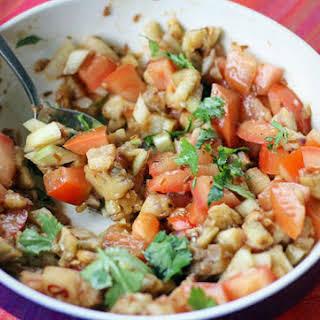 Ensaladang Talong Recipe (Eggplant Salad).