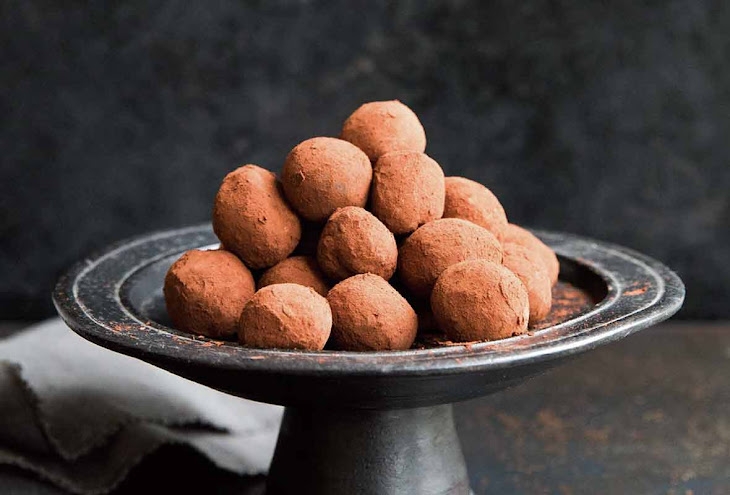 Chocolate Bourbon Truffles Recipe
