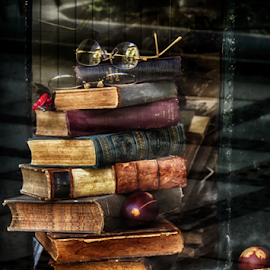 by Milanka Dimic - Artistic Objects Other Objects ( glasses, easter eggs, books, old books, shop window )