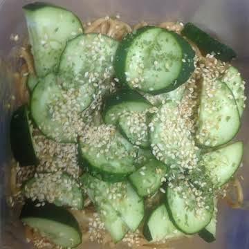 Chinese Sesame Noodle Salad