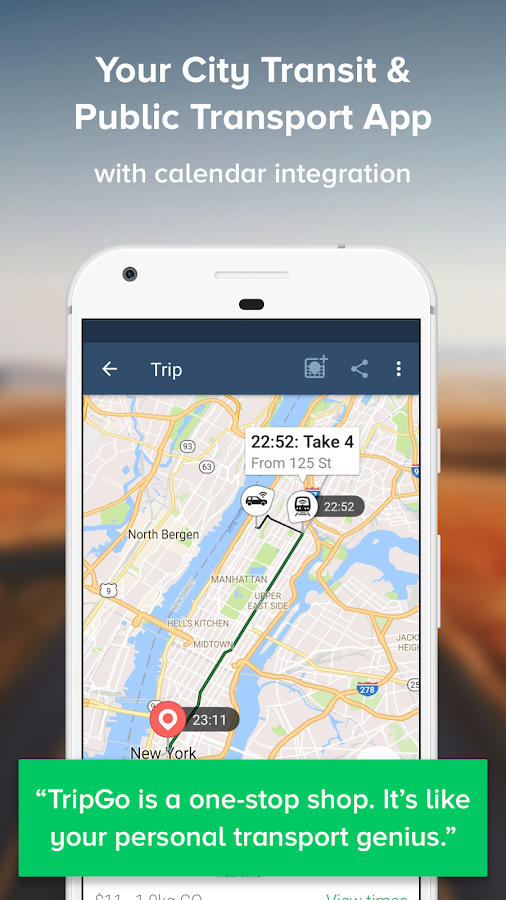 TripGo:Transit,Maps,Directions- screenshot