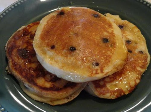 """Fluffy Lemon-Blueberry Pancakes """"These are the best pancakes I have every had...."""
