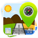 GPS Map Stamp: Geotag Photos with Timestamp Camera icon