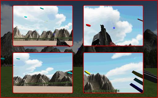 スキート射撃のエキスパート3D