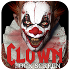Clown lock screen icon