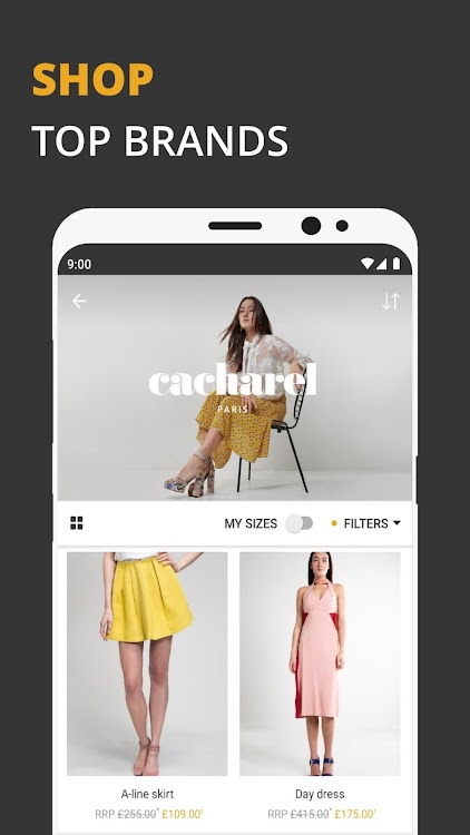 half off c3a85 98c11 Zalando Lounge - Shopping club – (Android Apps) — AppAgg