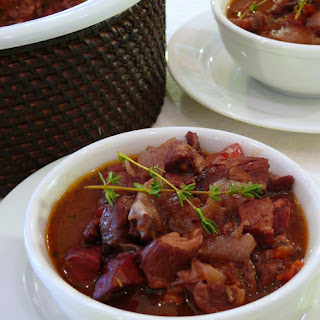 Cranberry Pork Stew
