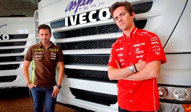 Photo: IVECO renueva las tractoras del ASPAR Team de la moto GP