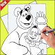 How To Draw Masha and The Bear (app)