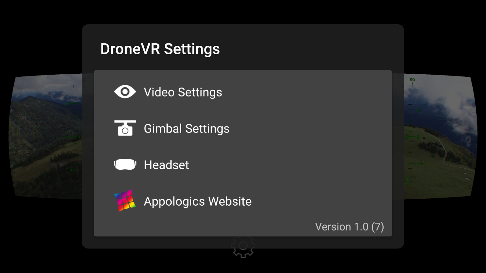 DroneVR+ FPV for DJI Drones- screenshot