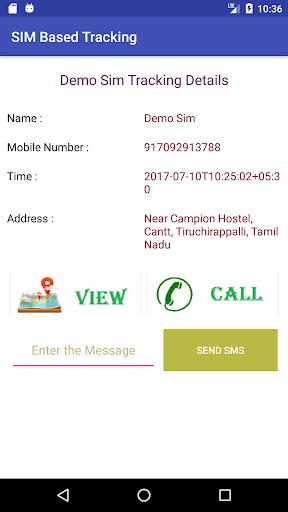 SIM card-based tracking  screenshots 6