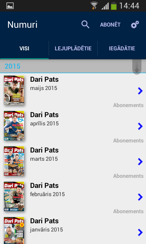 Dari Pats- screenshot