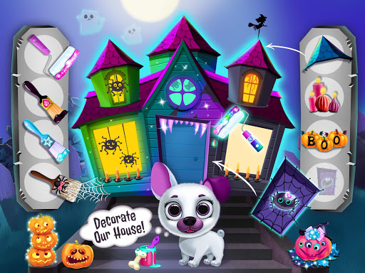 Kiki & Fifi Halloween Salon - Scary Pet Makeover 3.0.25 screenshots 18