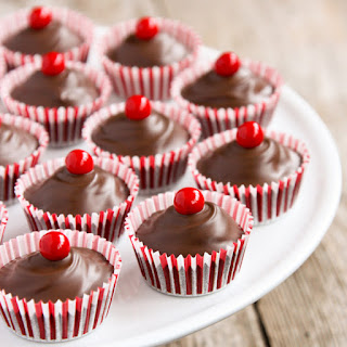 Chocolate Cherry Candy Cups
