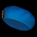 青いベレー帽