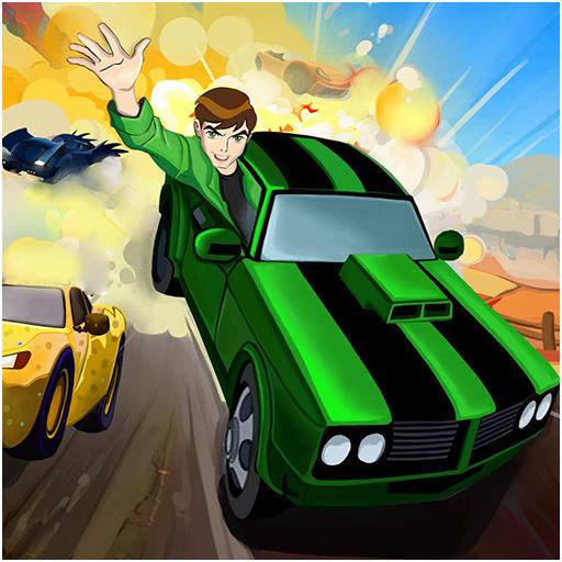 Ben Alien Car Racing Adventures