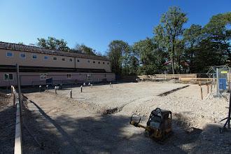Photo: vorbereitet für das Fundament