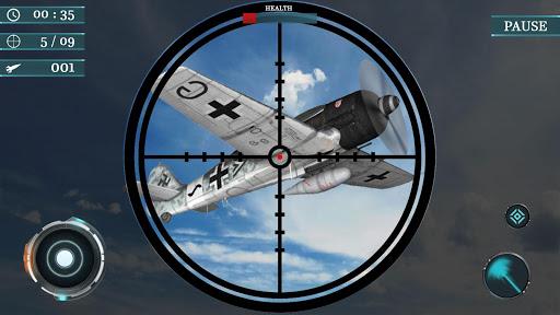 Sky war fighter jet: Airplane shooting Games 1.3 de.gamequotes.net 3