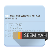 Minimal Attention clock