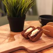 Chocolate Lava Wheel Cake