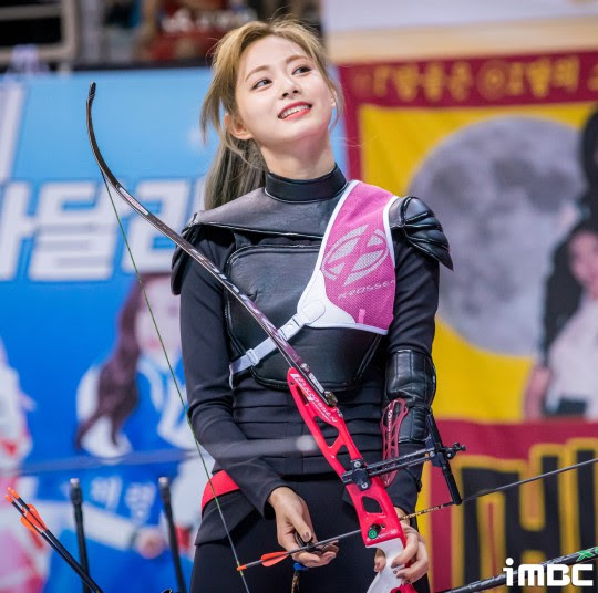 twice tzuyu archery5