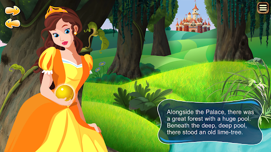 The Frog Prince Storybook screenshot 1
