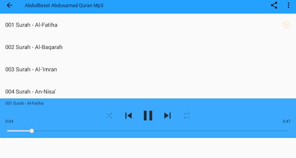 Abdul-Baset Abdus-Samad Qur'an for PC-Windows 7,8,10 and Mac apk screenshot 6